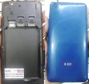 KXD W50 Flash File