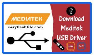 MTK (Mediatek) USB Driver