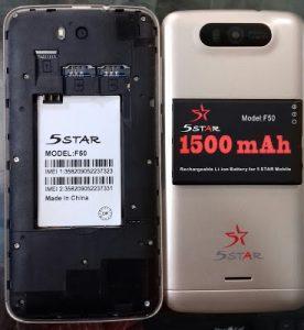 5Star F50 Flash File