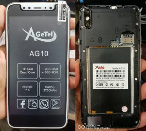 Agetel AG10 Flash File