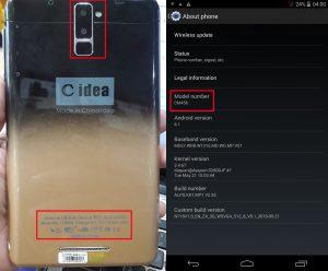 C idea CM456 Tab Flash File