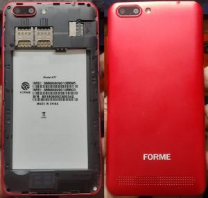 Forme A77 Flash File Firmware Download
