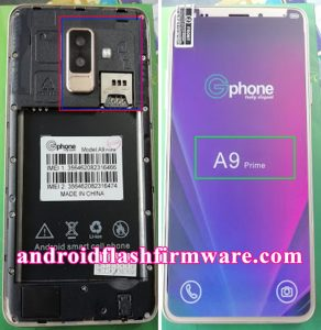 Gphone A9 Prime Flash File Firmware Download