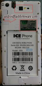 Ice Phone i555 Flash File All Version Firmware Download