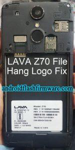 Lava Z70 Flash File