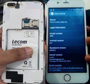 Lecom 8500 Flash File