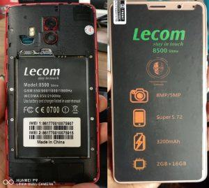 Lecom 8500 Slime Flash File