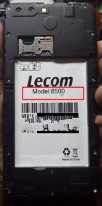 Lecom 8500 Venus Flash File