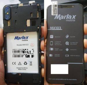 Marlax MX103 Flash File Firmware Download