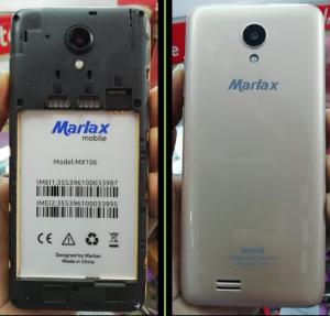 Marlax MX106 Flash File Firmware Download