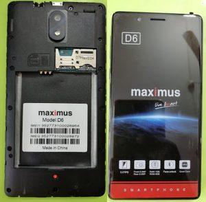 Maximus D6 Flash File