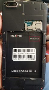 Maximus Max8 Flash File Firmware Download
