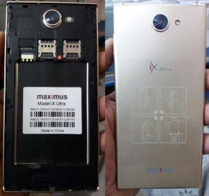 Maximus iX Ultra Flash File