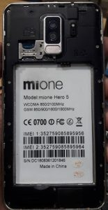 Mione Hero 5 Flash File Firmware Download