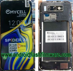 Mycell Spider A8 Ultra Flash File Firmware Download