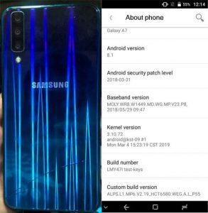 Samsung Clone A7 Flash File