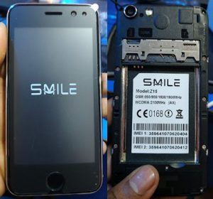 Smile Z15 Flash File AX