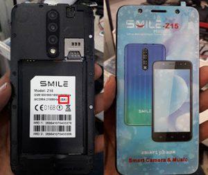 Smile Z15 Flash File BA Version