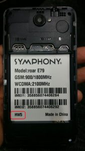 Symphony E79 Flash File Firmware Download
