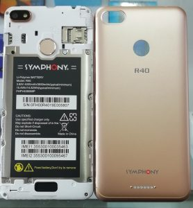Symphony R40 Flash File Firmware Download