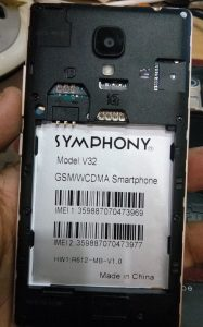 Symphony V32 Flash File
