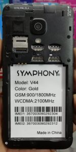 Symphony V44 Flash File Firmware Download