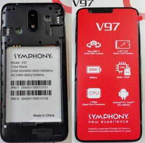 Symphony V97 Flash File