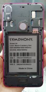 Symphony i18 Flash File Firmware Download