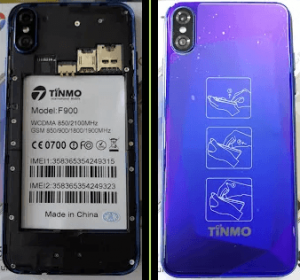 Tinmo F900 Flash File Firmware All Version Download
