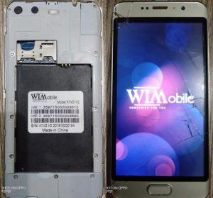 WImobile King K2 FLash File