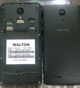 Walton Primo E9 Flash File Firmware Download