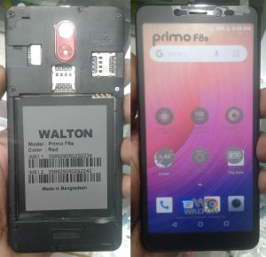 Walton Primo F8s Flash File Firmware Download