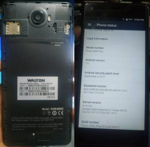Walton Primo GM2+ Flash File Firmware Download