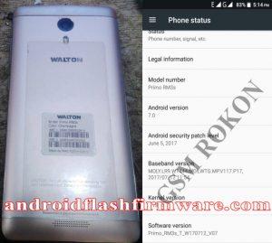 Walton Primo RM3s Flash File