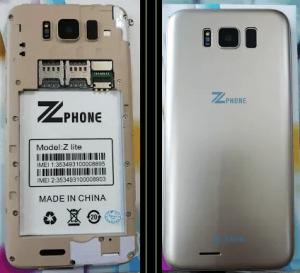 Zphone Z Lite Flash File