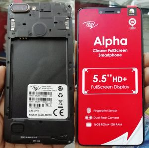 iTel Alpha W5503 Flash File