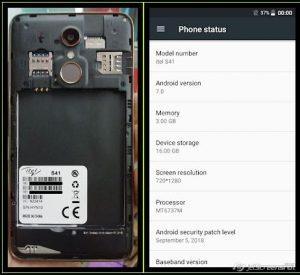 iTel S41 Flash File