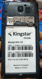 Kingstar Ks i10 Flash File