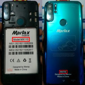Marlax MX110 Flash File