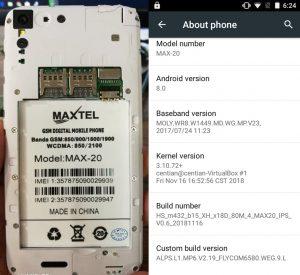 Maxtel Max 20 Flash File