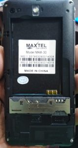 Maxtel Max 30 Flash File
