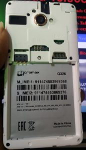 Micromax Q326 Plus Flash File Firmware Download