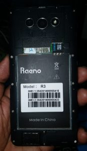 Raeno R3 Flash File