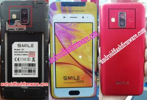 Smile Q1 Flash File Firmware Download