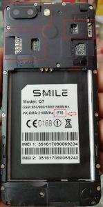 Smile Q7 FX Flash File Firmware Download
