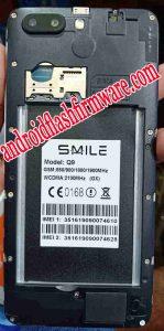 Smile Q9 Flash File Firmware Download