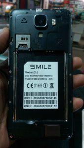 Smile Z12 Flash File HA Version