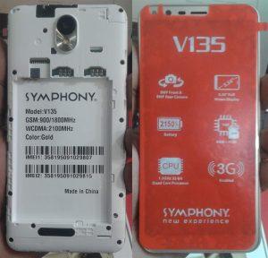 Symphony V135 Flash File