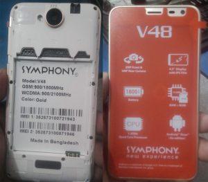 Symphony V48 FRP Bypass Reset File