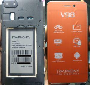 Symphony V98 Flash File